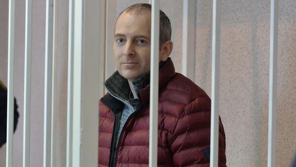 Блогер Александр Лапшин в суде - Sputnik Беларусь