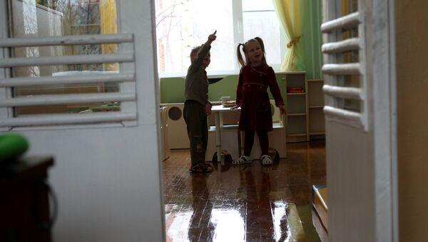 Воспитанники детского дома, архивное фото - Sputnik Беларусь