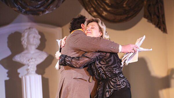 Сцэна з оперы Viva la mama Вялікага тэатра оперы і балета - Sputnik Беларусь