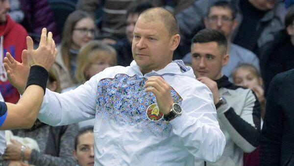 Капітан мужчынскай зборнай Уладзімір Ваўчкоў - Sputnik Беларусь