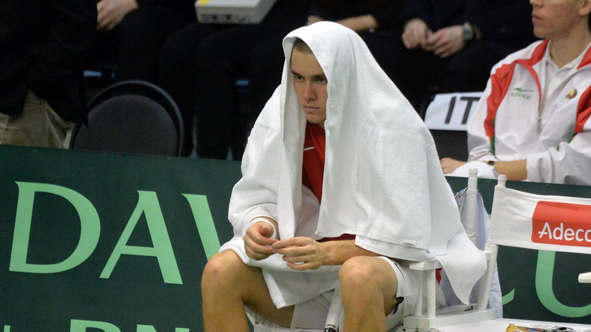Белорусский теннисист Егор Герасимов - Sputnik Беларусь, 1920, 23.09.2021