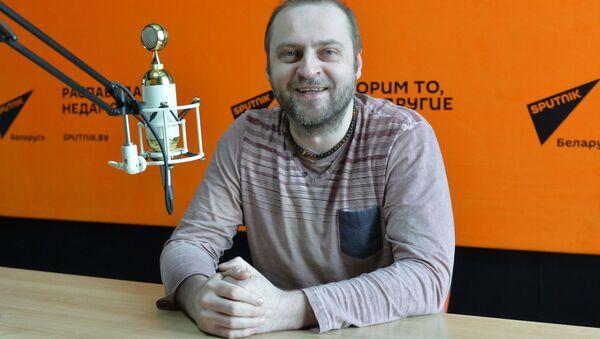 Лідэр гурта J:Mорс Уладзімір Пугач  у студыі радыё Sputnik Беларусь - Sputnik Беларусь
