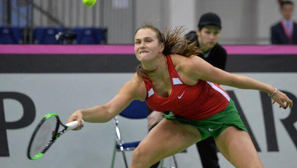 Арина Соболенко в четверьфинале Кубка Федерации - Sputnik Беларусь