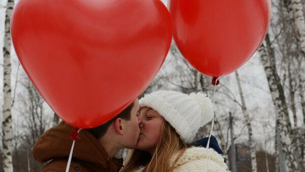 Святкаванне Дня святога Валянціна - Sputnik Беларусь