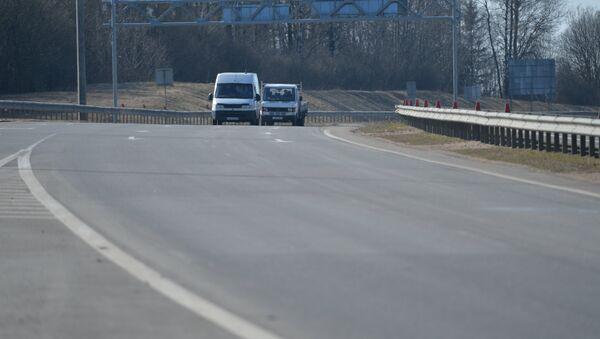 Трасса, архивное фото - Sputnik Беларусь