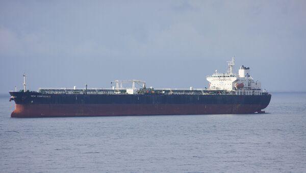 Нафтавы танкер, архіўнае фота - Sputnik Беларусь