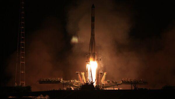 Запуск транспортного грузового корабля Прогресс с космодрома Байконур - Sputnik Беларусь
