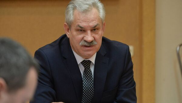 Министр энергетики Владимир Потупчик, архивное фото - Sputnik Беларусь