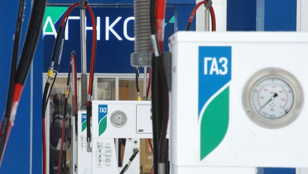 Газозаправочная станция в Казани - Sputnik Беларусь