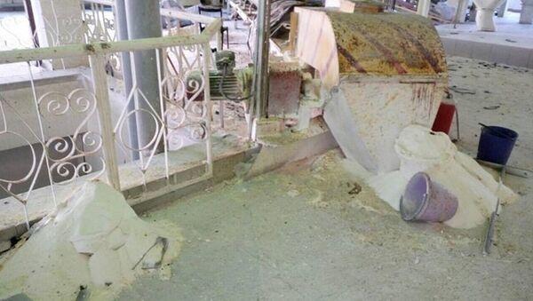 В цеху Скидельского сахарного комбината, где произошел взрыв - Sputnik Беларусь
