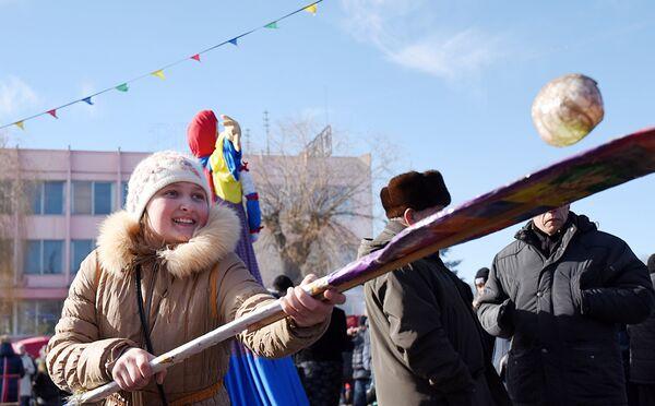Масленица в Гомеле - Sputnik Беларусь