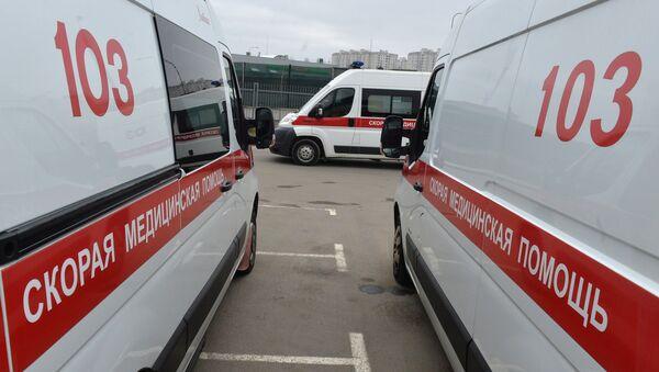 Машины скорой помощи в Минске, архивное фото - Sputnik Беларусь