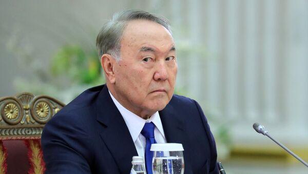 Прэзідэнт Казахстана Нурсултан Назарбаеў - Sputnik Беларусь
