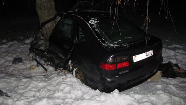 Место аварии в Оршанском районе - Sputnik Беларусь