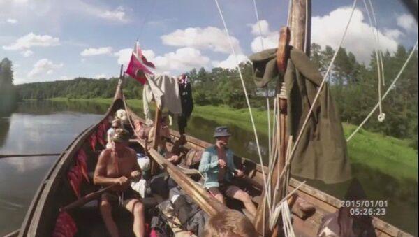 Відэафакт: Як вікінгі плавалі па Нёмане - Sputnik Беларусь