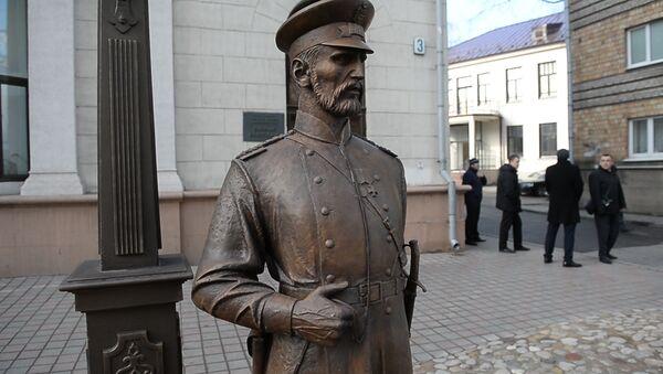 Помнік гарадавому з'явіўся ў Мінску - Sputnik Беларусь