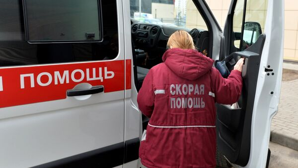 Врач скорой помощи, архивное фото - Sputnik Беларусь