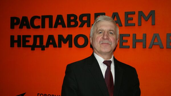 Председатель партии БНФ Григорий Костусев - Sputnik Беларусь