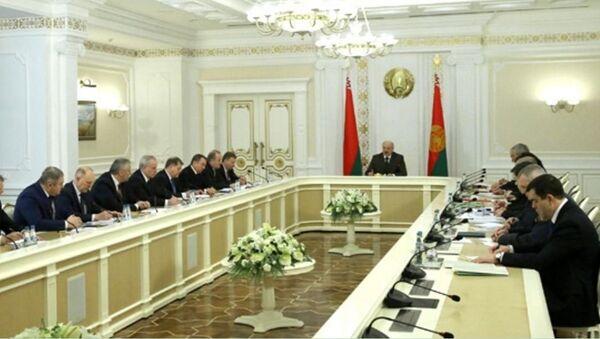 Совещание об актуальных вопросах развития Беларуси - Sputnik Беларусь