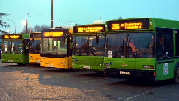 Автобусы в Минске - Sputnik Беларусь