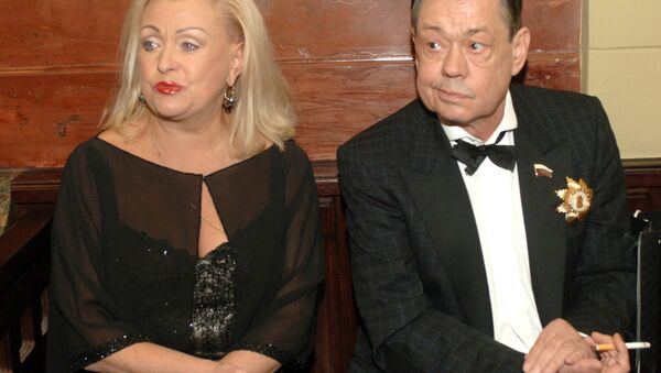 Николай Караченцов с супругой Людмилой Поргиной - Sputnik Беларусь