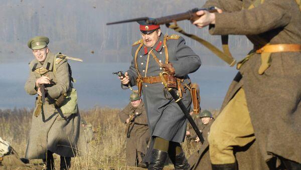 Міжнародны ваенна-патрыятычны фестываль Вайна 1916 года - Sputnik Беларусь