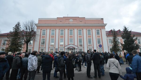 Марш нетунеядцев завершился в Молодечно - Sputnik Беларусь