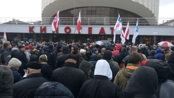 Акция оппозиции в Минске - Sputnik Беларусь