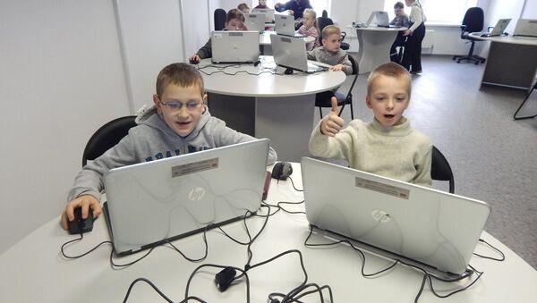 Школьники в ПВТ - Sputnik Беларусь