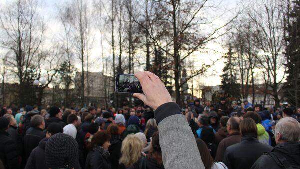 Несанкционированная акция Марш нетунеядцев в Гродно - Sputnik Беларусь