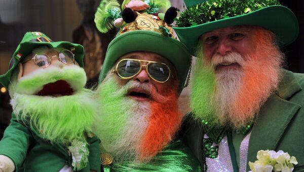 Ірландцы святкуюць дзень святога Патрыка, архіўнае фота - Sputnik Беларусь