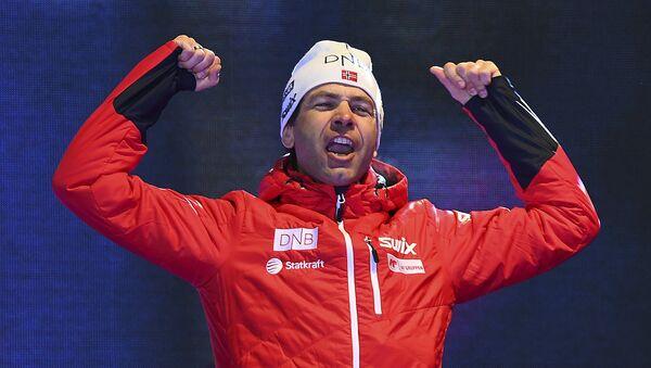 Норвежский биатлонист Уле-Эйнар Бьорндален - Sputnik Беларусь