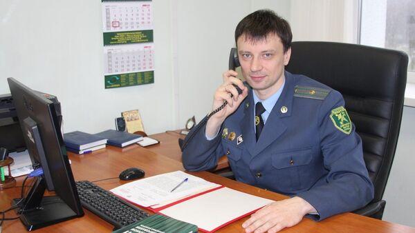 Начальник пункта таможенного оформления Минская почта Минской региональной таможни Павел Садовский - Sputnik Беларусь