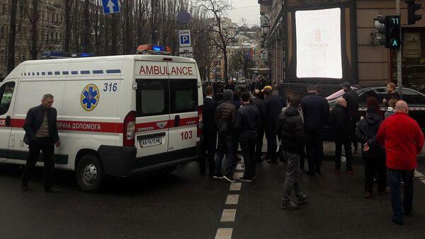 Место убийство депутата Дениса Вороненкова в Киеве - Sputnik Беларусь