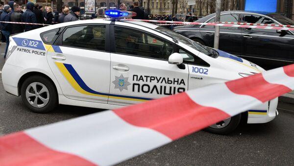 Полиция на месте убийства Вороненкова в Киеве - Sputnik Беларусь