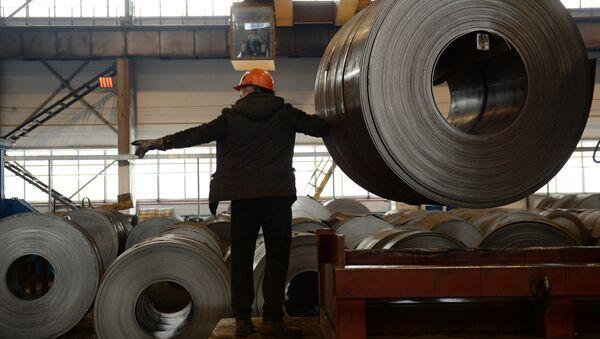Работа металлургического завода, архивное фото - Sputnik Беларусь