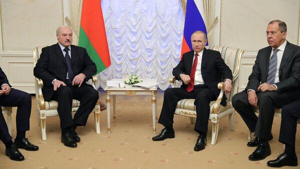 Рабочая поездка президента РФ В. Путина в Северо-Западный федеральный округ - Sputnik Беларусь