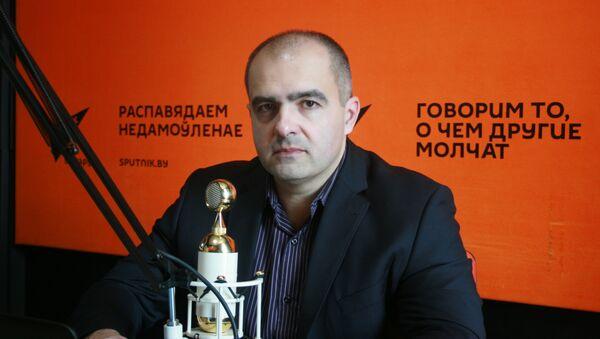 Олег Гайдукевич в студии радио Sputnik Беларусь - Sputnik Беларусь