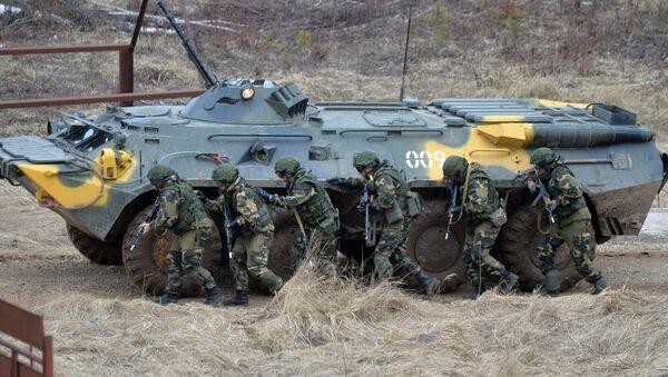 Совместные учения сил ВДВ России и Сил спецопераций Беларуси - Sputnik Беларусь