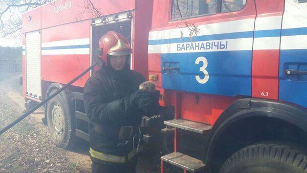 Пажарны з вожыкам - Sputnik Беларусь