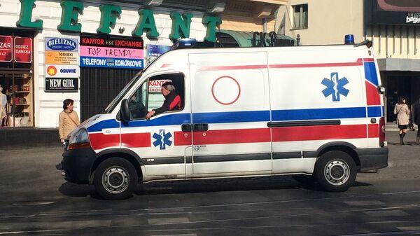 Машина скорой помощи в Польше, архивное фото - Sputnik Беларусь