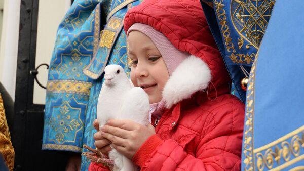 Святкаванне Дабравешчання Прасвятой Багародзіцы - Sputnik Беларусь