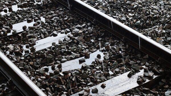 Рельсы железной дороги, архивное фото - Sputnik Беларусь