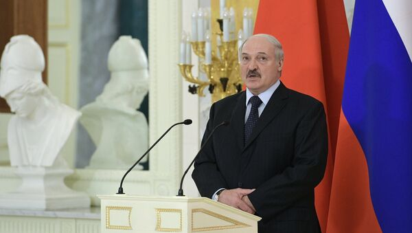 Президент Беларуси Александр Лукашенко в Санкт-Петербурге - Sputnik Беларусь