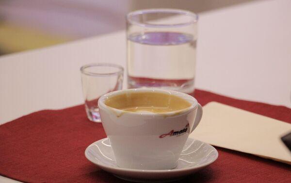 Эспрессо, приготовленный для судей чемпионата бариста Беларуси - Sputnik Беларусь