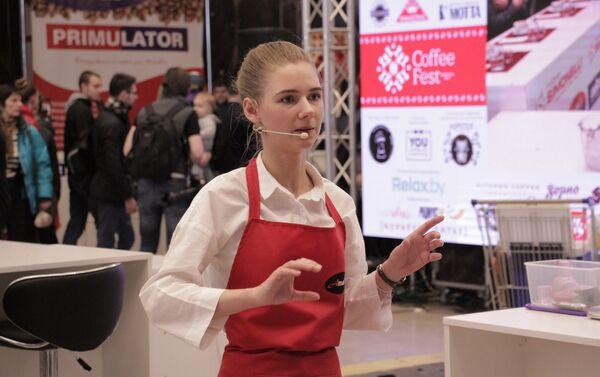 Участник чемпионата бариста Беларуси - Sputnik Беларусь