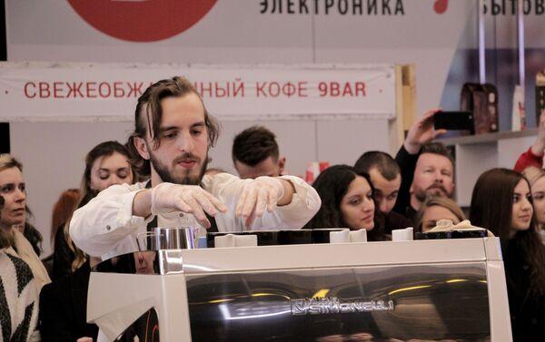 Евгений Пинчуков, победитель чемпионата бариста-2016 - Sputnik Беларусь