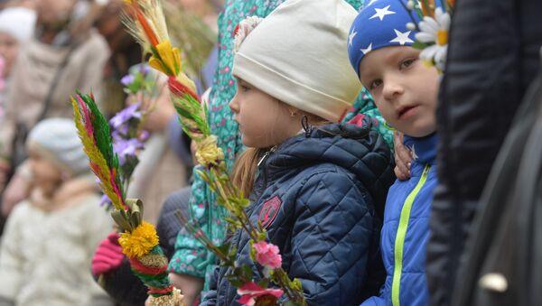 Вербное воскресенье, архивное фото - Sputnik Беларусь