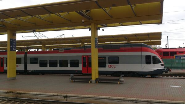 Железнодорожный вокзал в Минске - Sputnik Беларусь