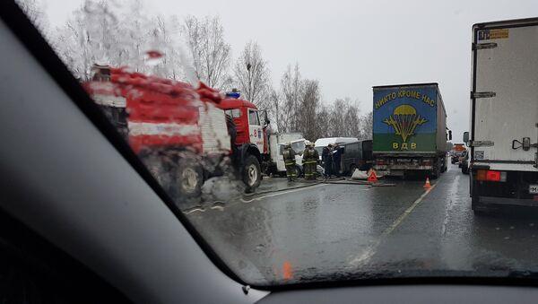 Авария в Брянской области - Sputnik Беларусь